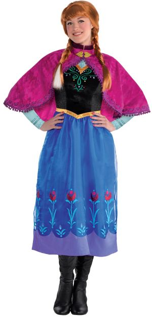 Adult Anna Costume - Frozen