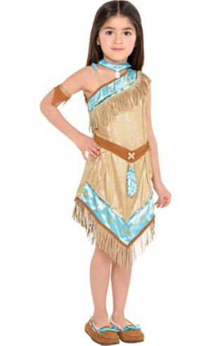 Little Girls Pocahontas Costume