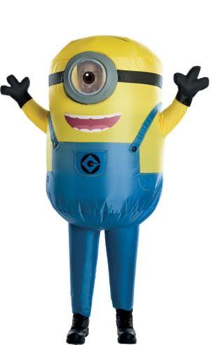Boys Inflatable Stuart Costume - Despicable Me 3