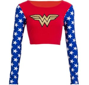 Wonder Woman Crop Top