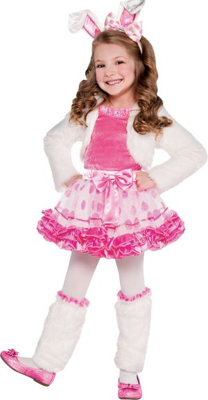 Toddler Girls Honey Bunny Costume