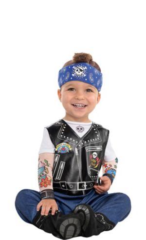 Baby Biker Costume