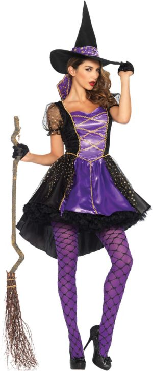 Adult Crafty Vixen Witch Costume