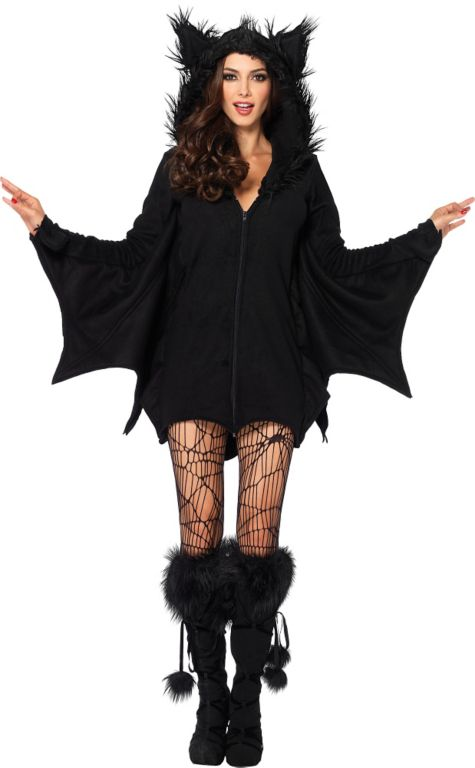 Animals Costumes Adults Adult Cozy Bat Costume