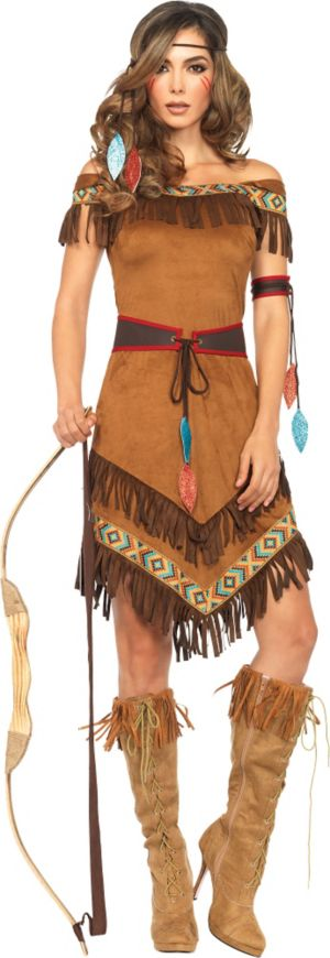 Opinion, interesting native american adult costume