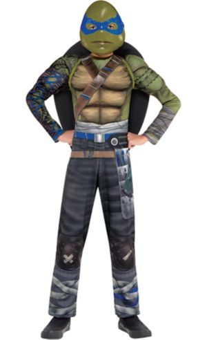 Boys Leonardo Muscle Costume - Teenage Mutant Ninja Turtles 2