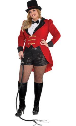 Adult Circus Ringmaster Costume Plus Size
