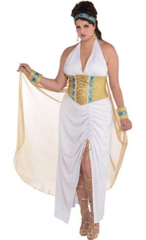 Adult Athena Goddess Costume Plus Size