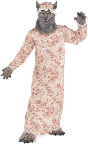 Adult Grandma Wolf Costume