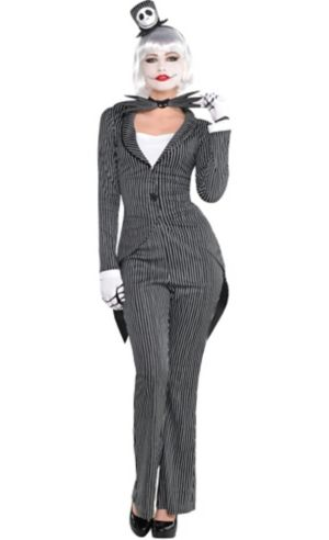 Adult Lady Jack Skellington Costume - The Nightmare Before Christmas