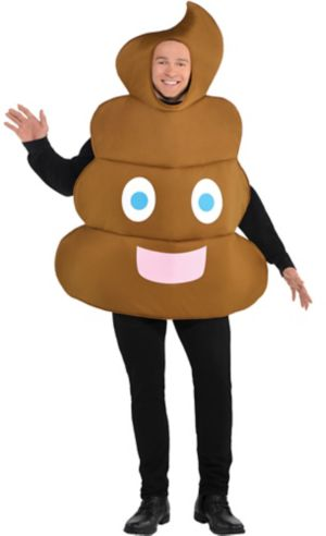 Adult Poop Icon Costume