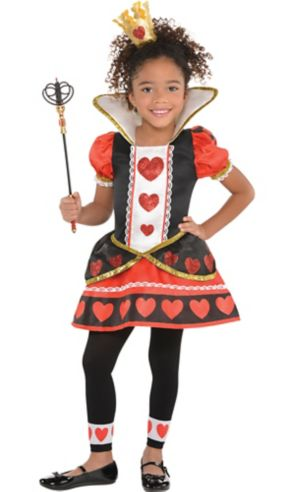 Toddler Girls Queen of Hearts Costume