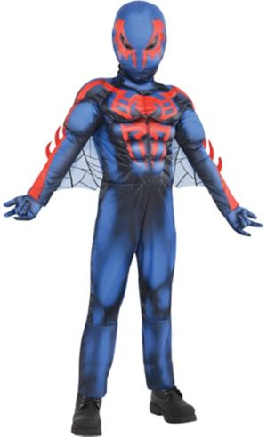 Little Boys Spider-Man 2099 Muscle Costume
