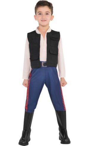 Little Boys Han Solo Costume - Star Wars