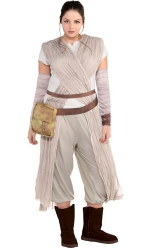 Adult Rey Costume Plus Size - Star Wars 7 The Force Awakens