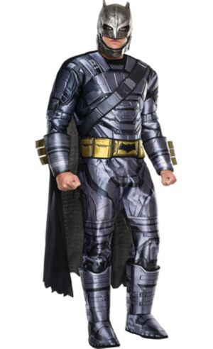 Adult Batman Muscle Costume - Batman v Superman: Dawn of Justice