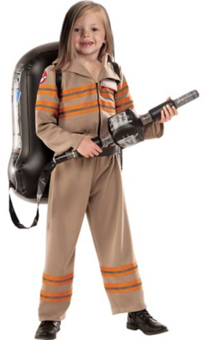 Little Girls Ghostbuster Costume