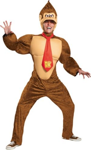 Adult Donkey Kong Costume - Super Mario
