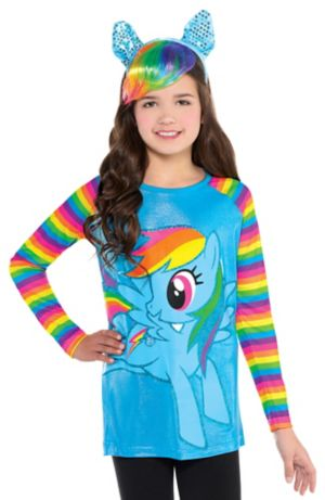 Child Rainbow Dash Long-Sleeve Shirt - My Little Pony