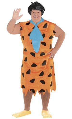 Adult Fred Flintstone Costume Plus Size - The Flintstones