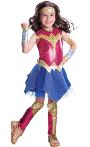 Girls Wonder Woman Costume - Batman v Superman: Dawn of Justice
