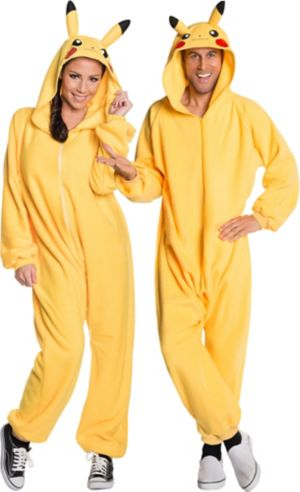 Adult Pikachu One Piece Costume