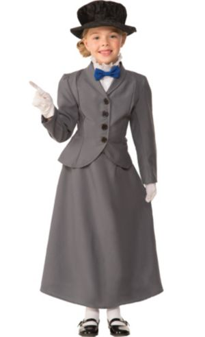 Girls Nanny Costume