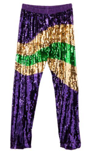 Sequin Mardi Gras Pants