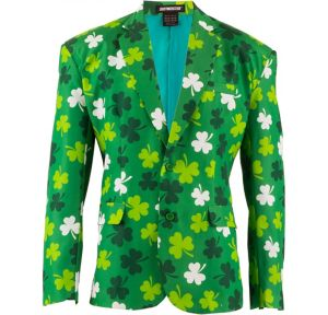 St. Patrick's Day Suit Jacket
