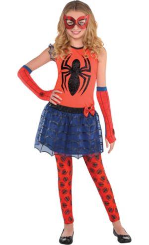 Girls Spider-Girl Costume