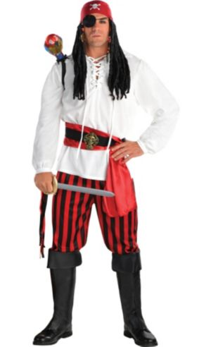Adult Pirate Costume Deluxe