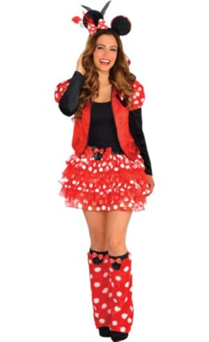 Adult Minnie Mouse Costume Deluxe
