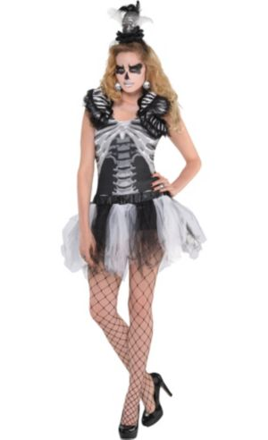 Adult Skeleton Costume Deluxe