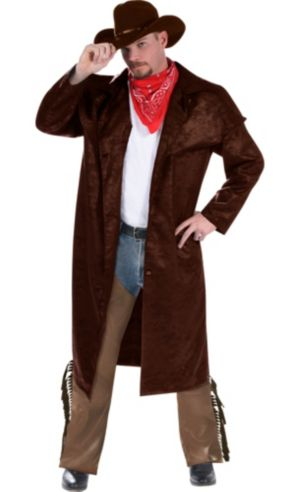 Adult Cowboy Costume Deluxe