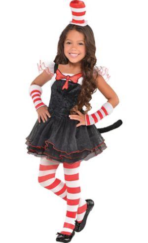 Toddler Girls Cat in the Hat Tutu Costume - Dr. Seuss