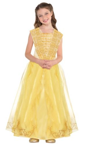 Girls Belle Costume Supreme - Beauty and the Beast
