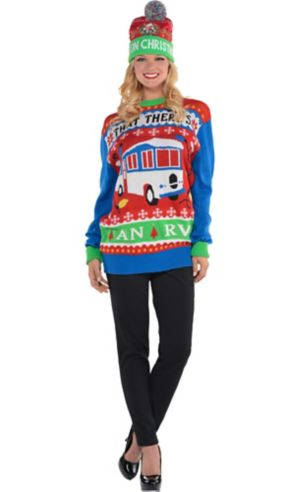 Adult National Lampoon's Christmas Vacation Ugly Christmas Sweater Costume