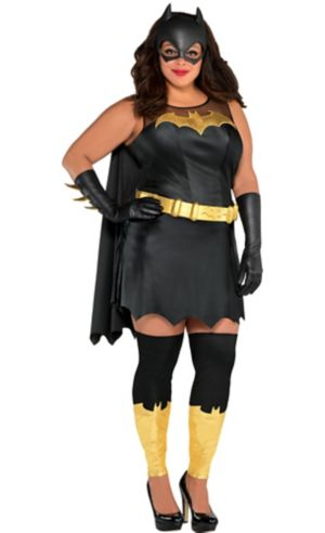Adult Batgirl Costume Plus Size - Batman