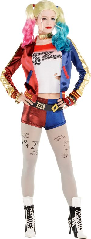 Adult Property of Joker Harley Quinn Costume - Suicide Squad