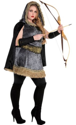 Adult Skilled Archer Costume Plus Size