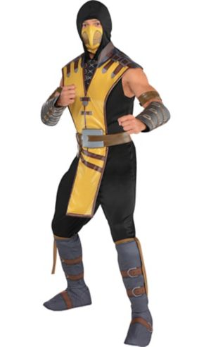 Adult Scorpion Costume - Mortal Kombat X