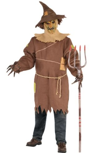 Adult Scary Scarecrow Costume Plus Size