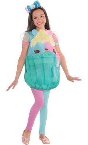 Girls Candie Puffs Costume - Num Noms
