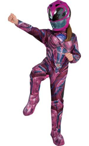 Little Girls Pink Ranger Costume - Power Rangers