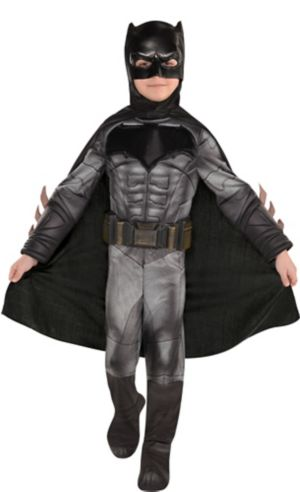 Little Boys Batman Muscle Costume - Justice League
