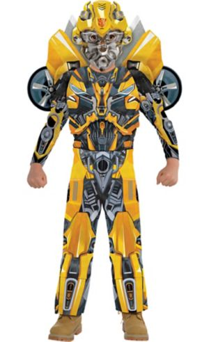 Little Boys Bumblebee Muscle Costume - Transformers 5: The Last Knight