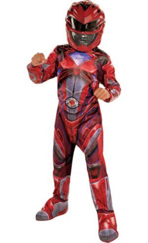 Little Boys Red Ranger Costume - Power Rangers