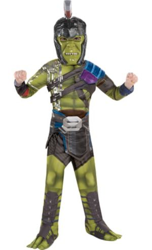 Little Boys Hulk Muscle Costume - Thor: Ragnarok