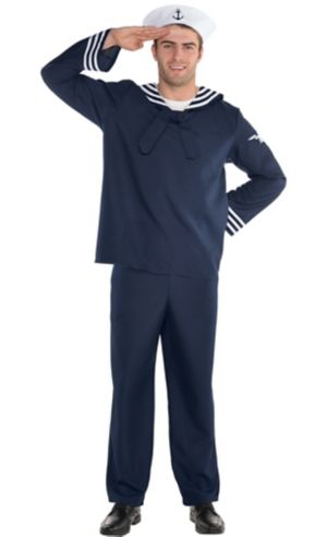 Adult Out to Sea Sailor Costume