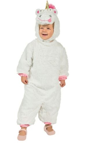 Girls It's So Fluffy Unicorn Costume - Despicable Me